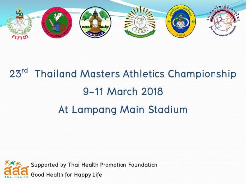 2018 thailand masters athletics championships